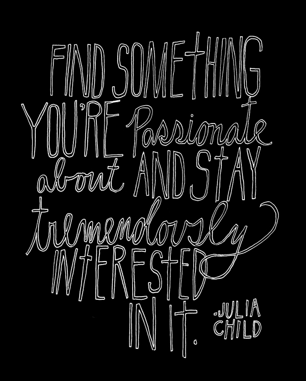 Julia Child – About Passion