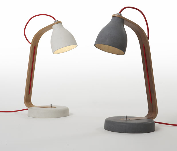 Heavy Desk Light by Benjamin Hubert